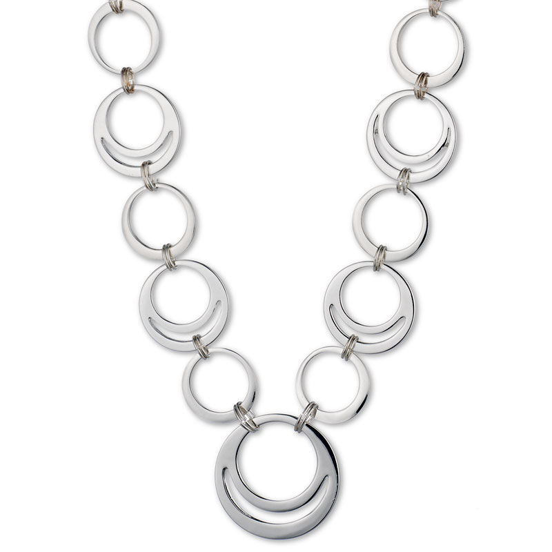 Nine West Collar Necklace - Silver