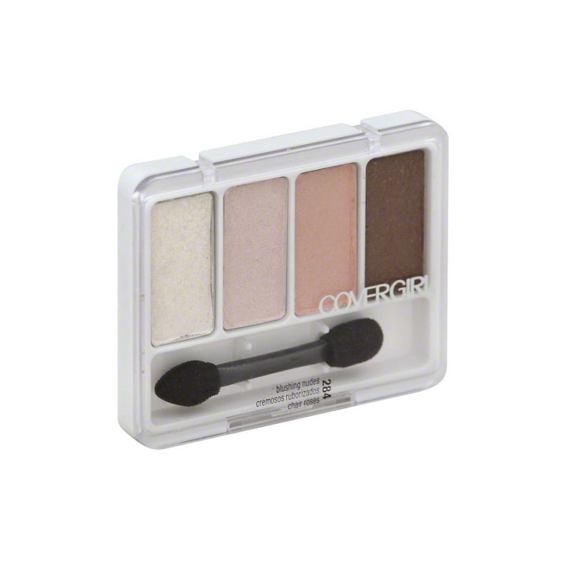 CoverGirl Eye Enhancers 4-Kit Shadows - Blushing Nudes