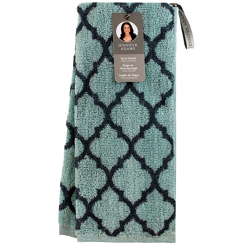 Jennifer Adams Dish Towel - Light Blue - Single