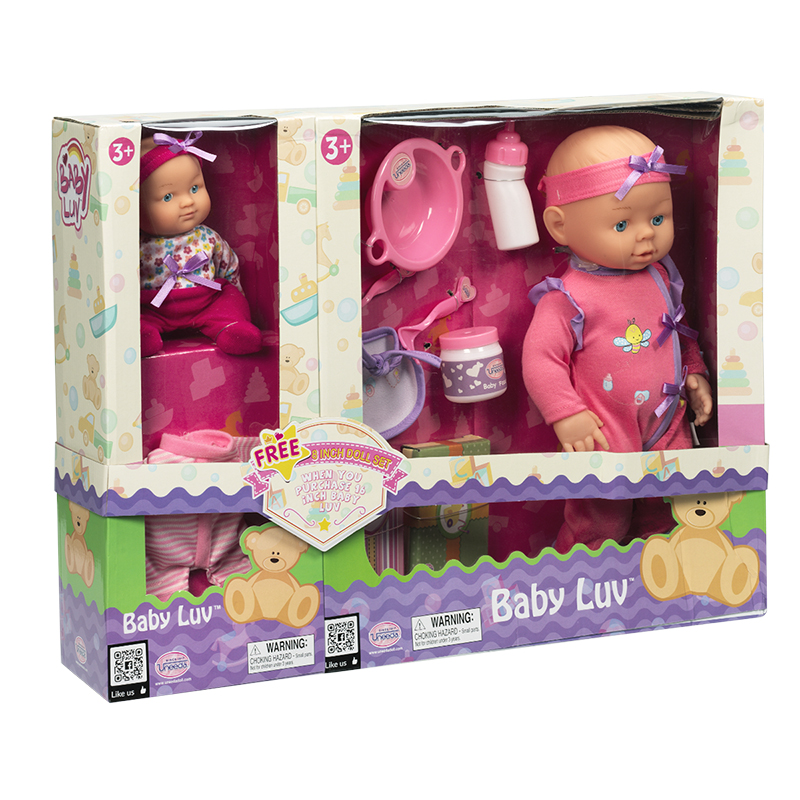 Baby Luv Gift Set - 2 Dolls