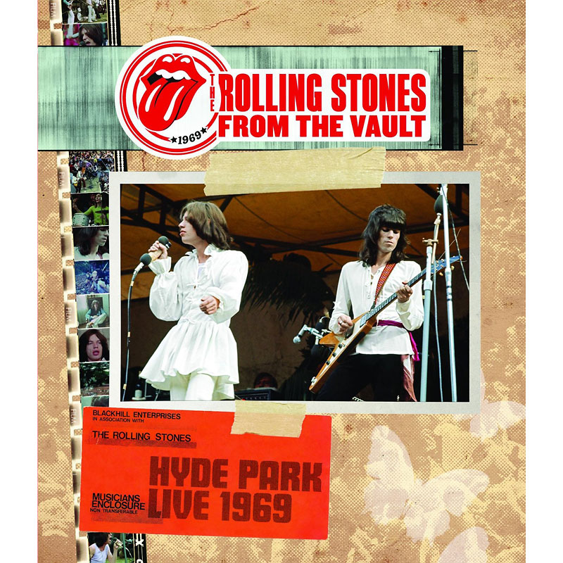 The Rolling Stones - Hyde Park Live 1969 - DVD
