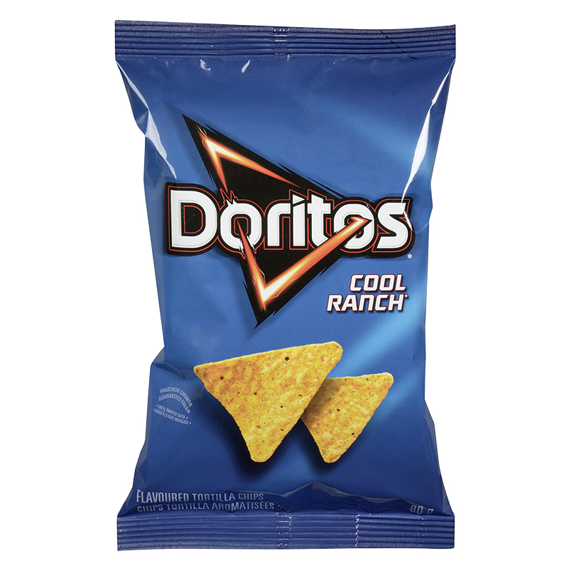 Doritos Tortilla Chips - Cool Ranch - 80g