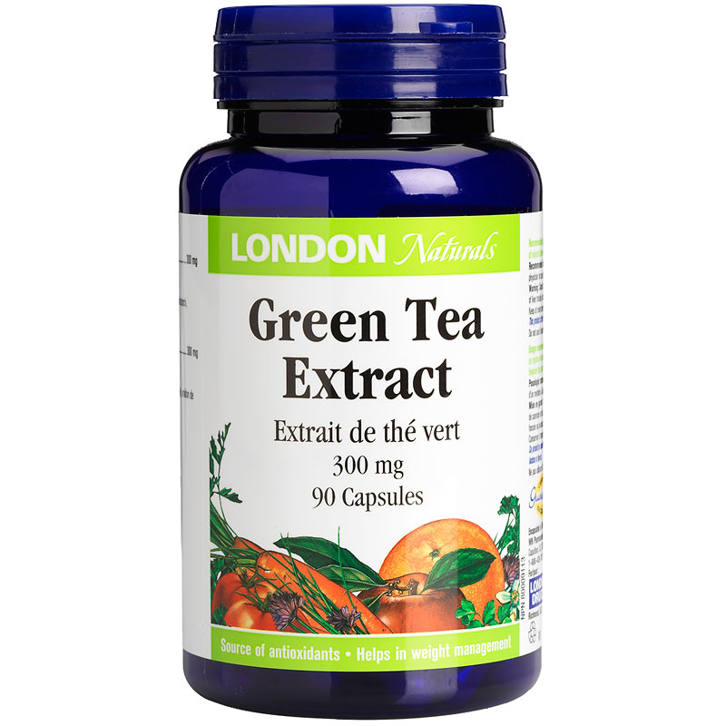 London Naturals Green Tea Extra Strength - 300mg - 90's