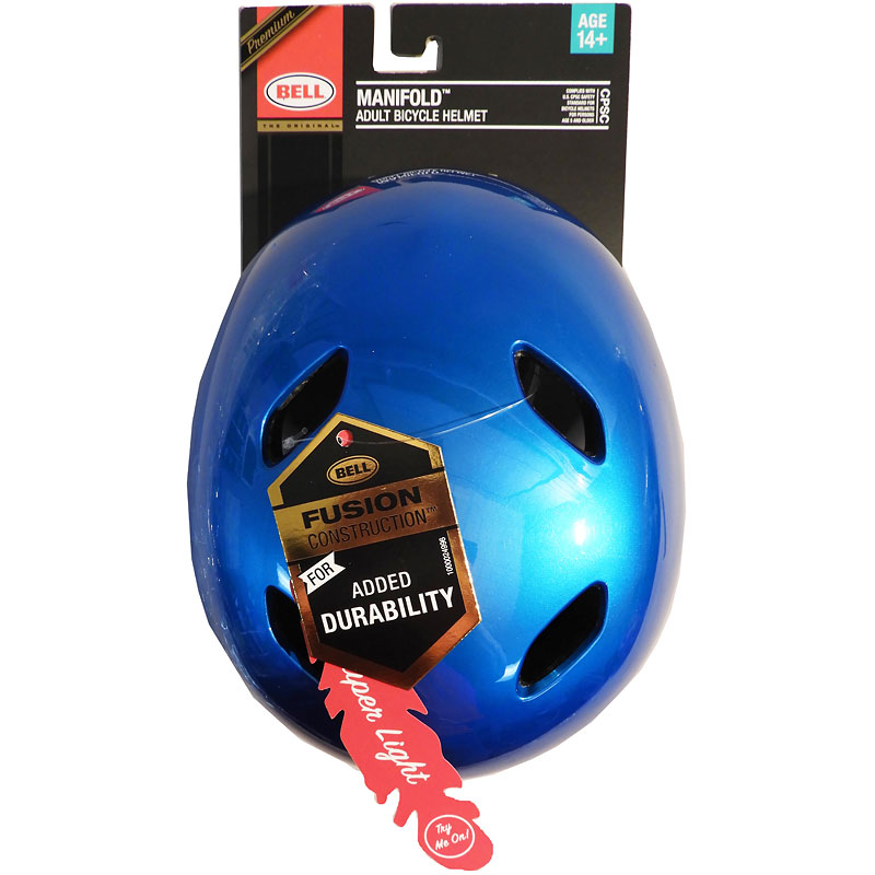Bell Manifold Bicycle Helmet - Blue - Adult