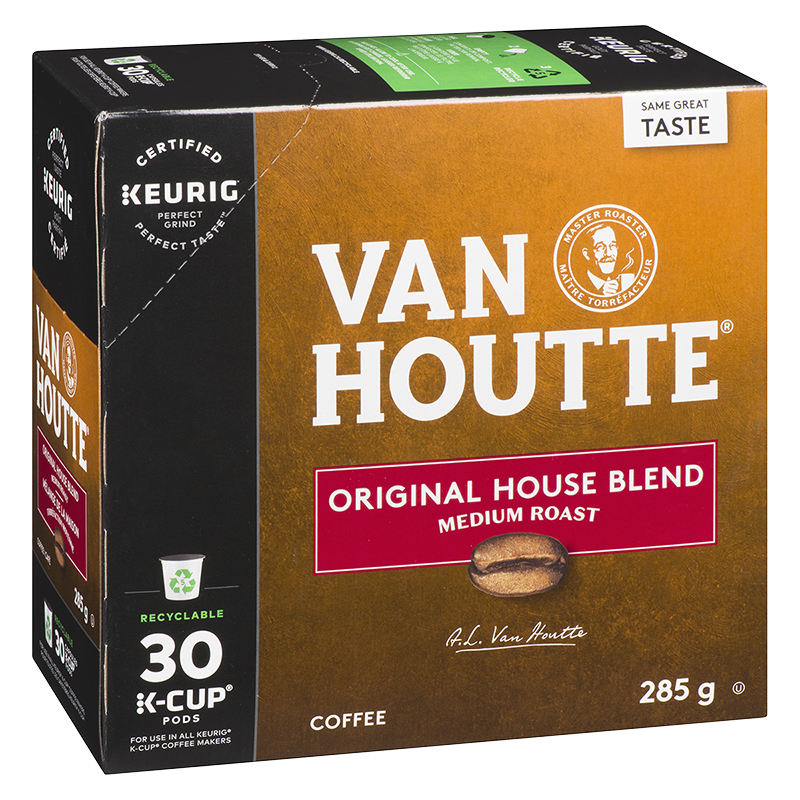 K-Cup Van Houtte Coffee Pods - House Blend - 30's