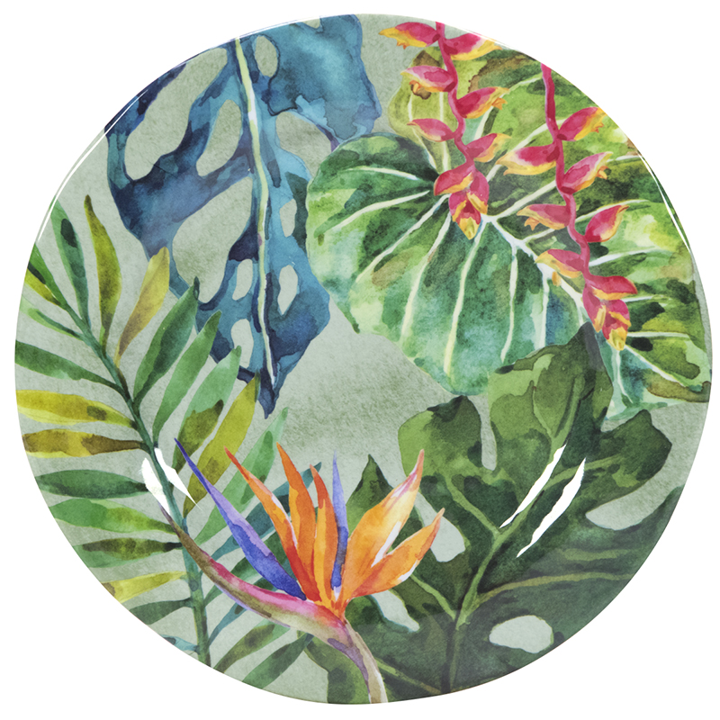 London Drugs Melamine Salad Plate - Paradise Collection - 9-inch