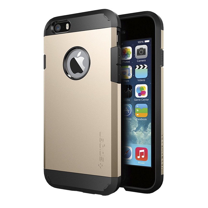 Spigen Tough Armor Case for iPhone 6 - Gold - SGP10970