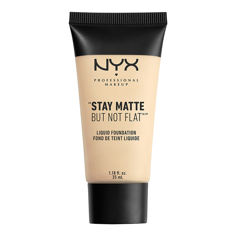 NYX Professional Makeup Stay Matte But Not Flat Liquid Foundation - Ivory