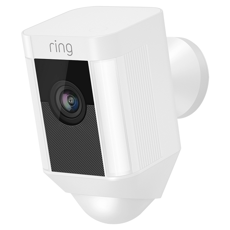 Ring Spotlight Cam Wired - White - RING-8SH1P7-WFC0