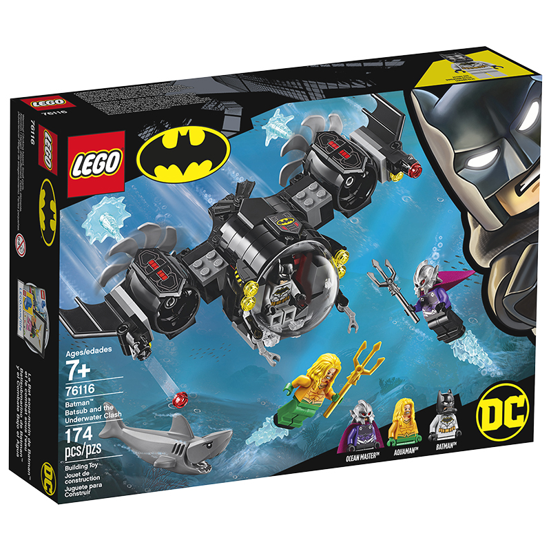 LEGO® DC Super Heroes - Batman Batsub and the Underwater Clash - 76116