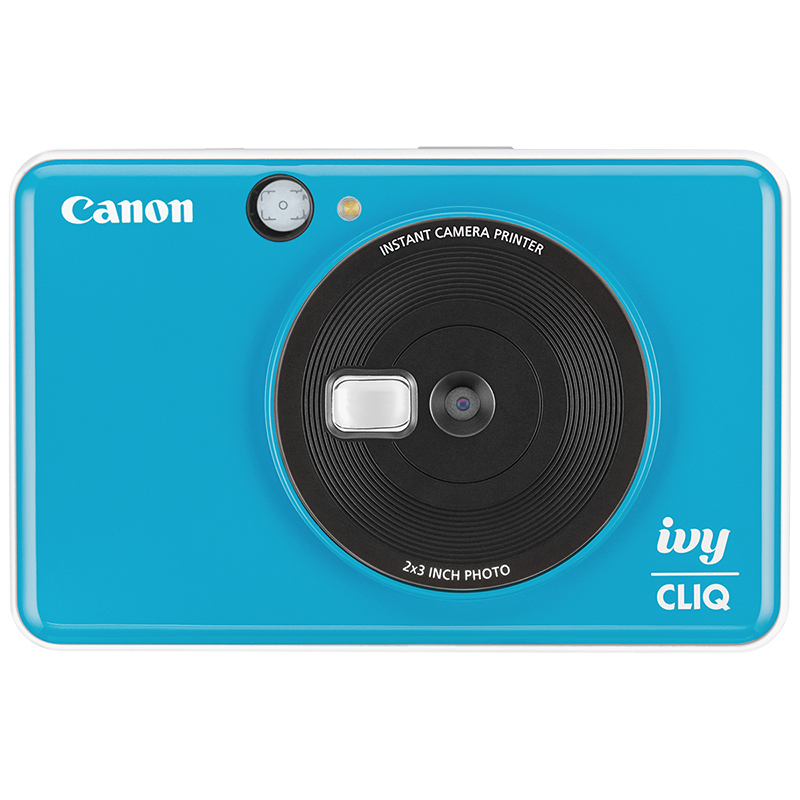 Canon Ivy Cliq Instant Camera - Seaside Blue - 3884C003