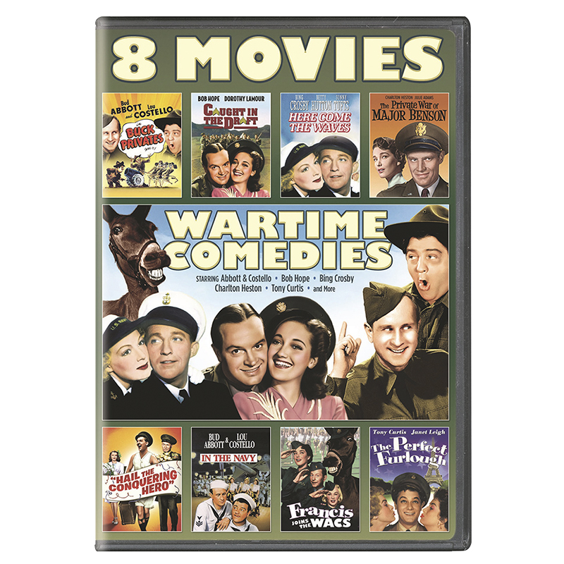 Wartime Comedies 8-Movie Collection - DVD