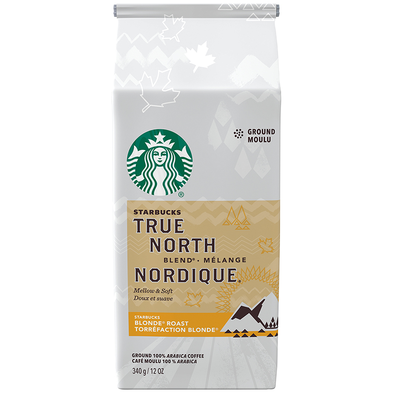 Starbucks Coffee - True North Blonde Roast - Ground - 340g