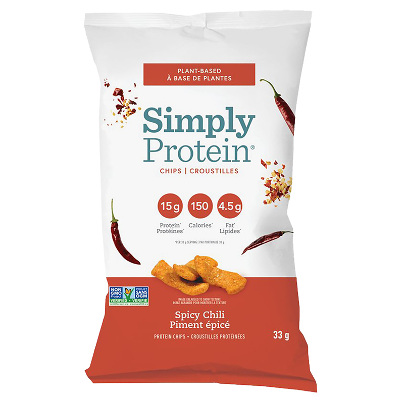 SimplyProtein Chips - Spicy Chili - 33g
