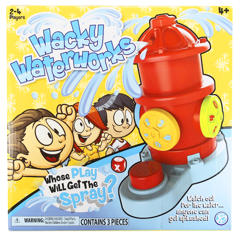 Wacky Waterworks Game