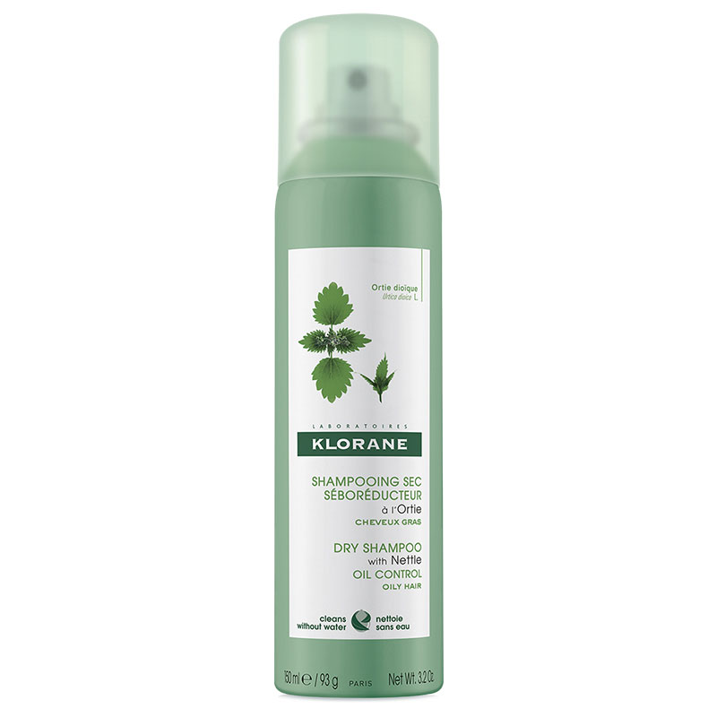 Klorane Oil-Controlling Dry Shampoo with Nettle Extract - 90g