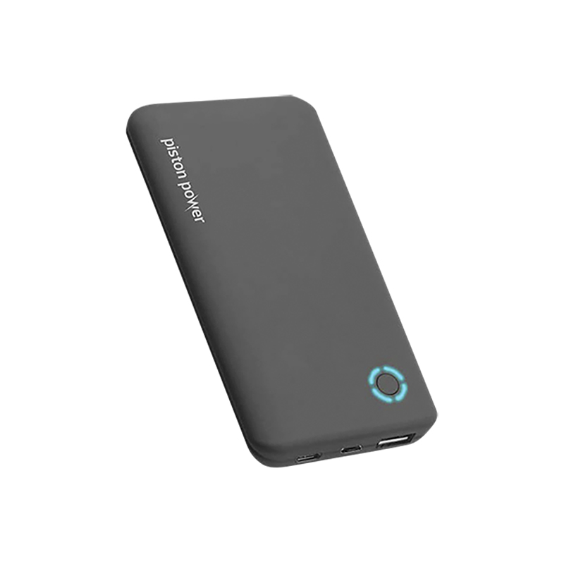 Logiix Piston Power 4000 mAh Ultra Slim Power Bank - Black - LGX12470