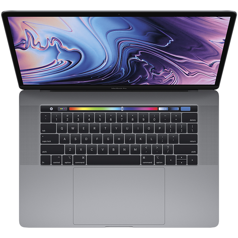 Apple MacBook Pro 256GB Touch Bar - 15 Inch - Space Grey - Intel i7 - Radeon Pro 555X 4GB - MV902LL/A
