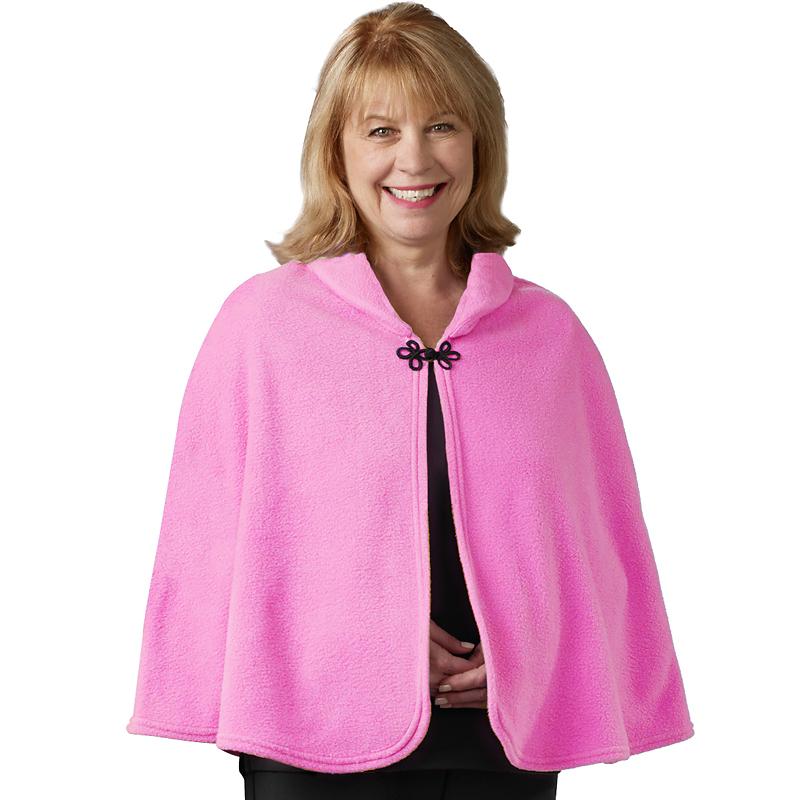 b44d4456b1a Silvert s Polar Fleece Bed Jacket - pink