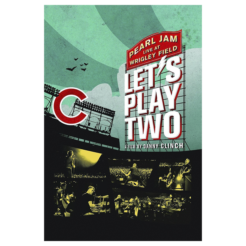 Pearl Jam Live at Wrigley Field: Let's Play Two - DVD