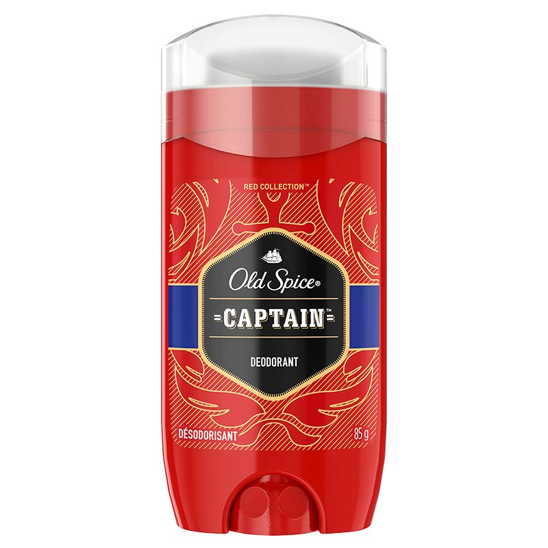 Old Spice Red Collection Deodorant - Captain - 85g