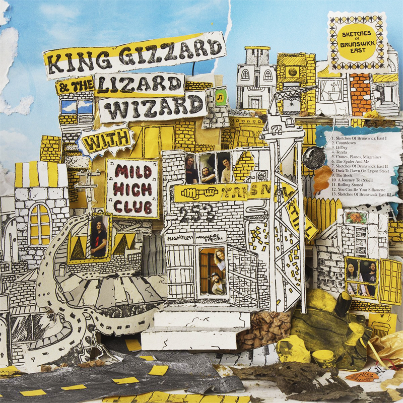 King Gizzard and the Lizard Wizard - Sketches of Brunswick East - CD