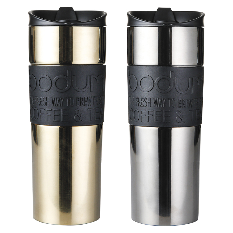 Bodum Travel Mugs - 15oz - 2 pack
