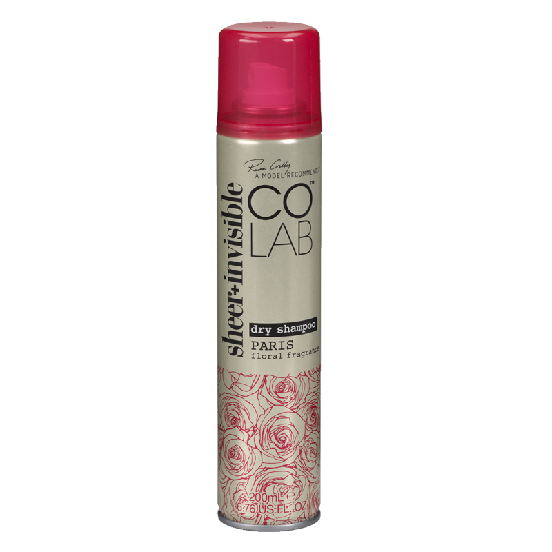 COLAB Dry Shampoo Paris - Sheer Invisible - 200ml