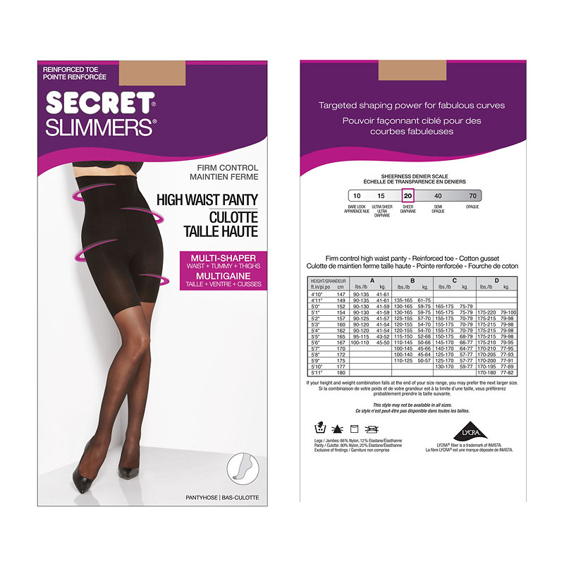 Secret Slimmers Firm Control - B - Neutral