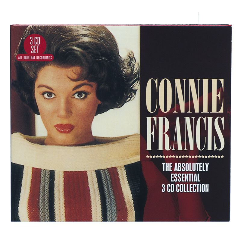 Connie Francis - The Absolutely Essential 3 CD Collection - 3 CD