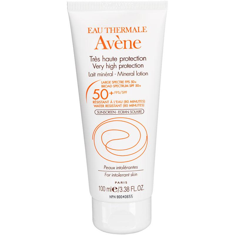 c6c945a46ae3 Avene Mineral Lotion for Intolerant Skin - SPF 50 - 100ml | London Drugs