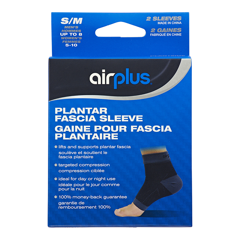 0019a5ce3e Airplus Plantar Fascia Sleeve - S/M - 2's | London Drugs