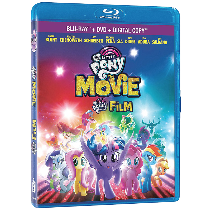 My Little Pony: The Movie Combo - Blu-ray