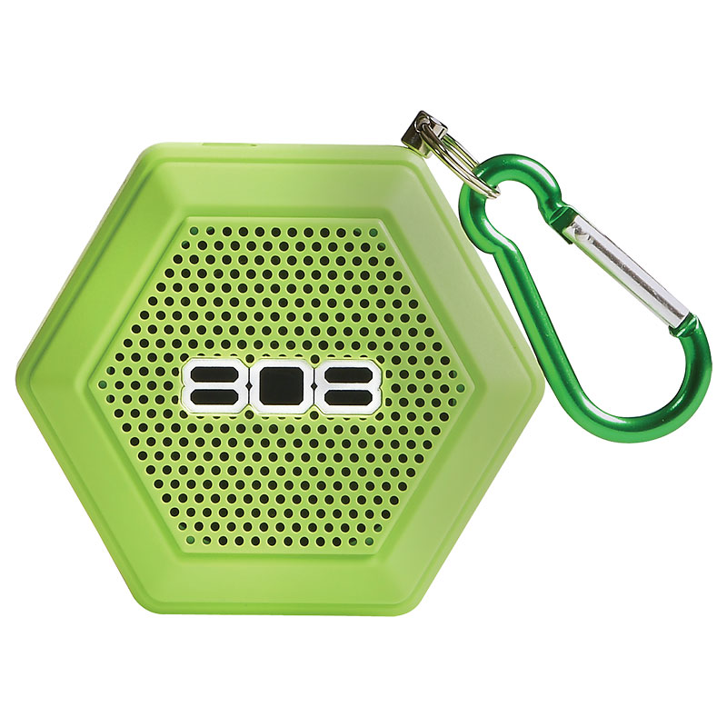 808 Hex Tether Bluetooth Speaker - Green - SP50GR