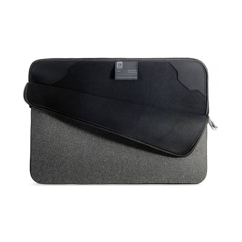 Tucano Melange Second Skin Notebook Sleeve - 15-16 Inch - Black - BFM1516-BK