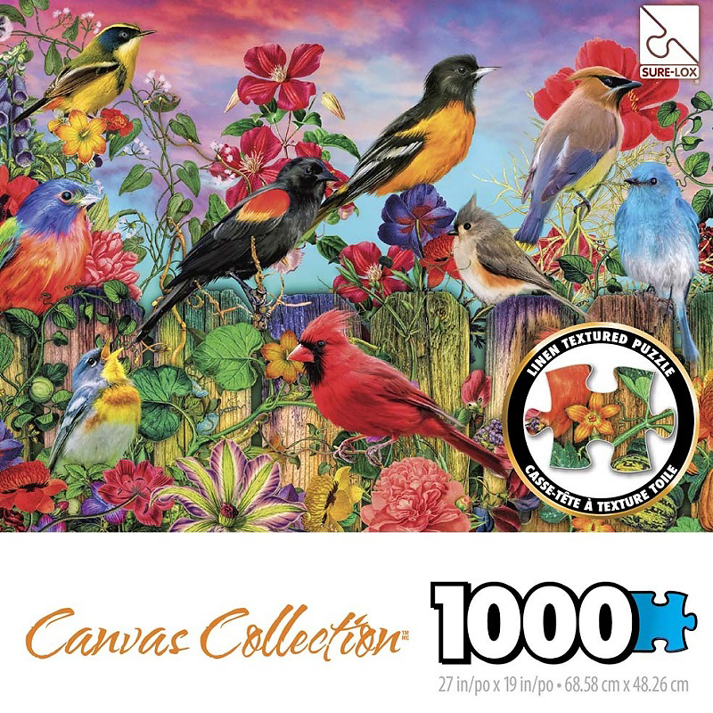Sure-Lox Canvas Collection - 1000 piece - Assorted