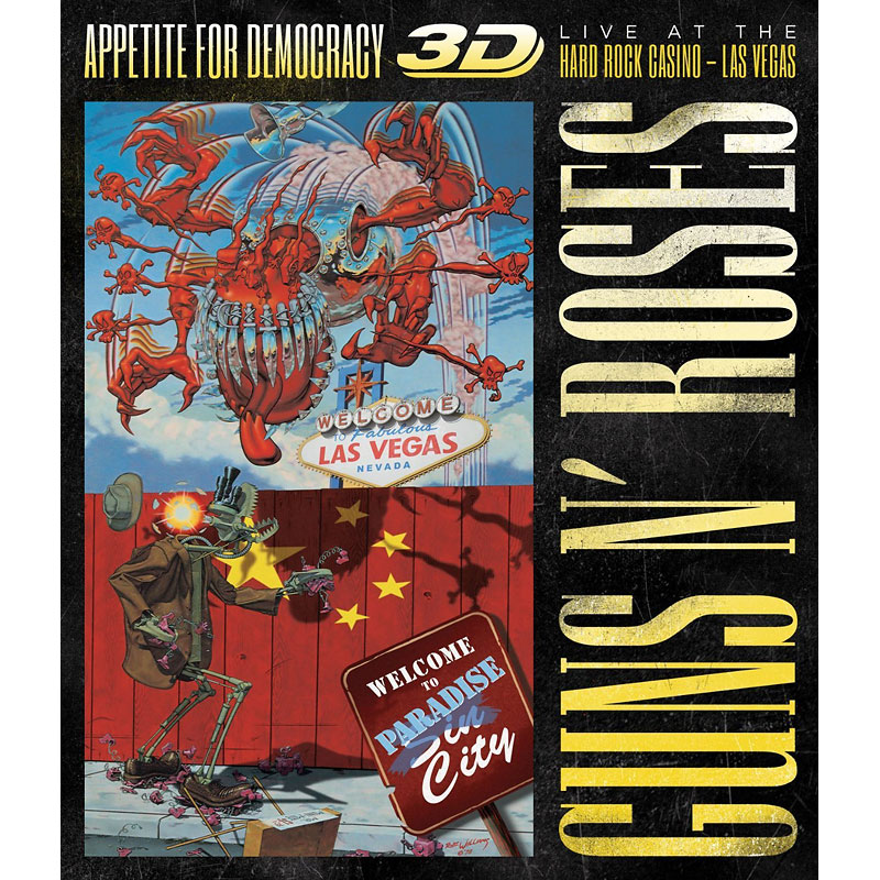 Guns n' Roses - Appetite For Democracy - Blu-ray