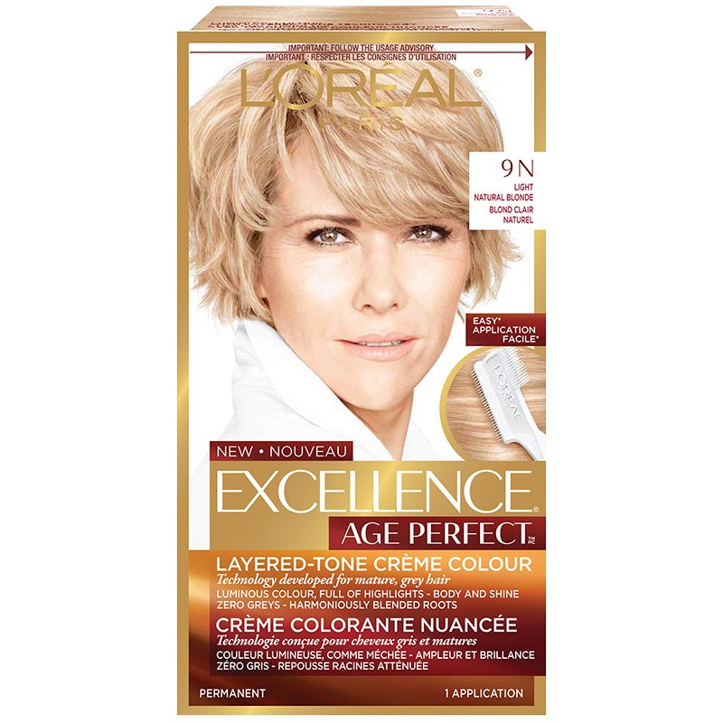 L'Oreal Excellence Age Perfect Creme Colour - 9N Light Natural Blonde