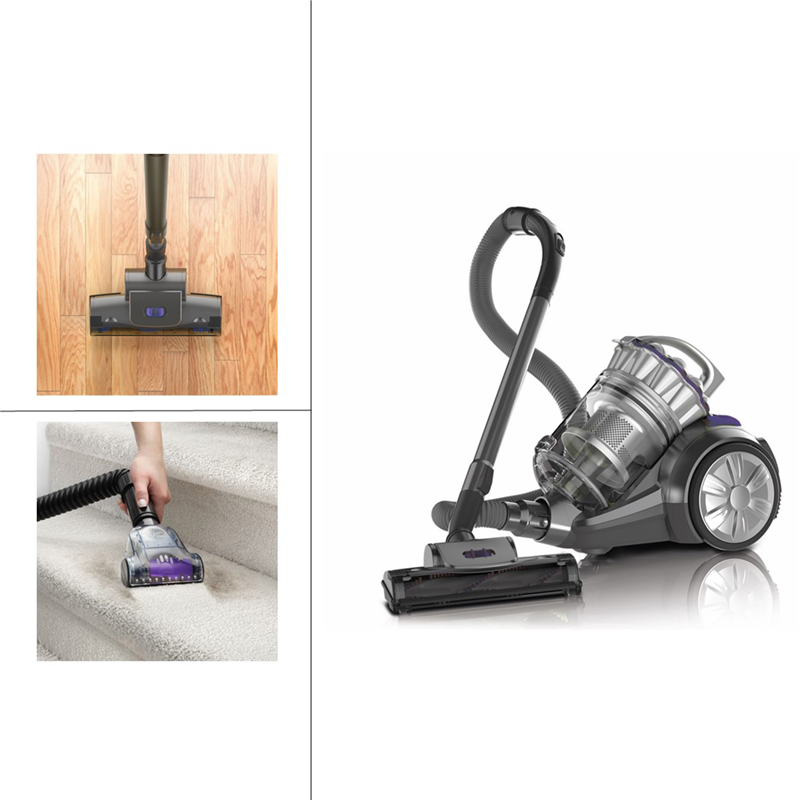 Hoover Elite Multi Pet Vacuum - Grey/Purple - SH40205
