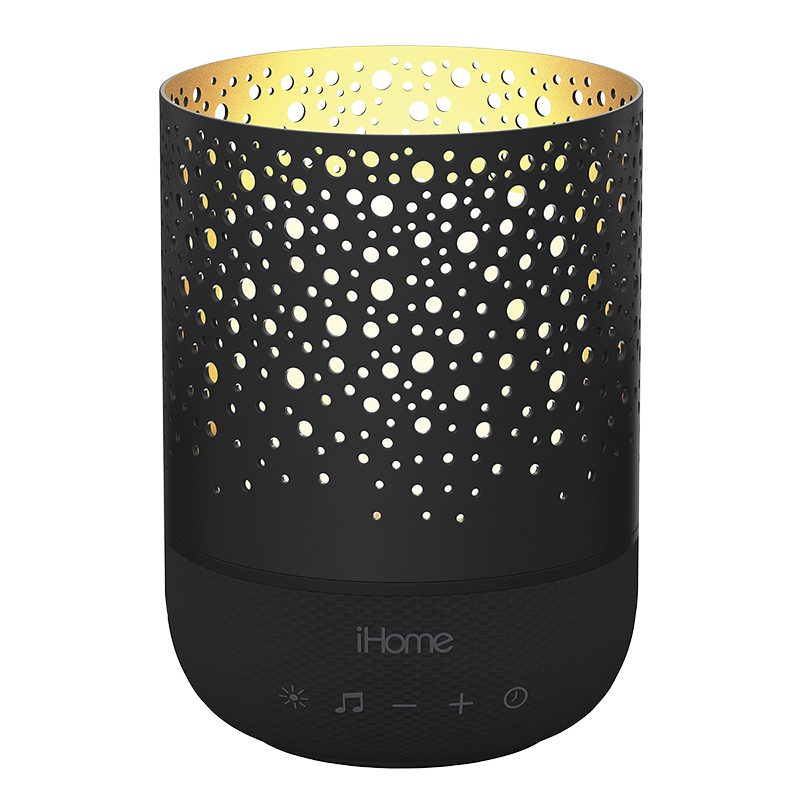 iHome Therapy Candle - Black - iZM100BH