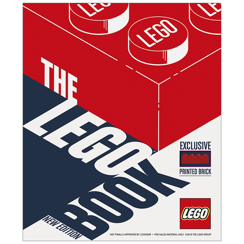 The LEGO®  Book: New Edition by Daniel Lipkowitz