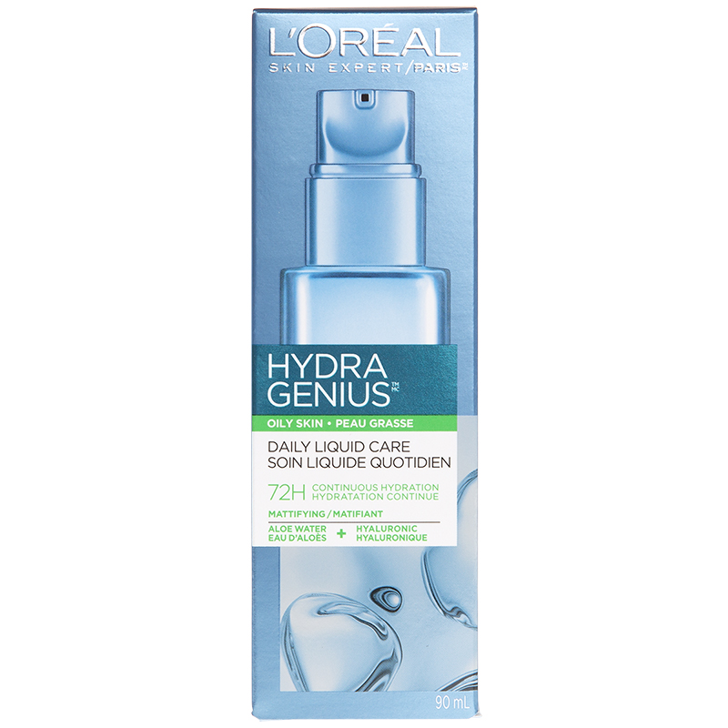 L'Oreal Hydra Genius Moisturizer Daily Liquid Care - Oily Skin - 90ml