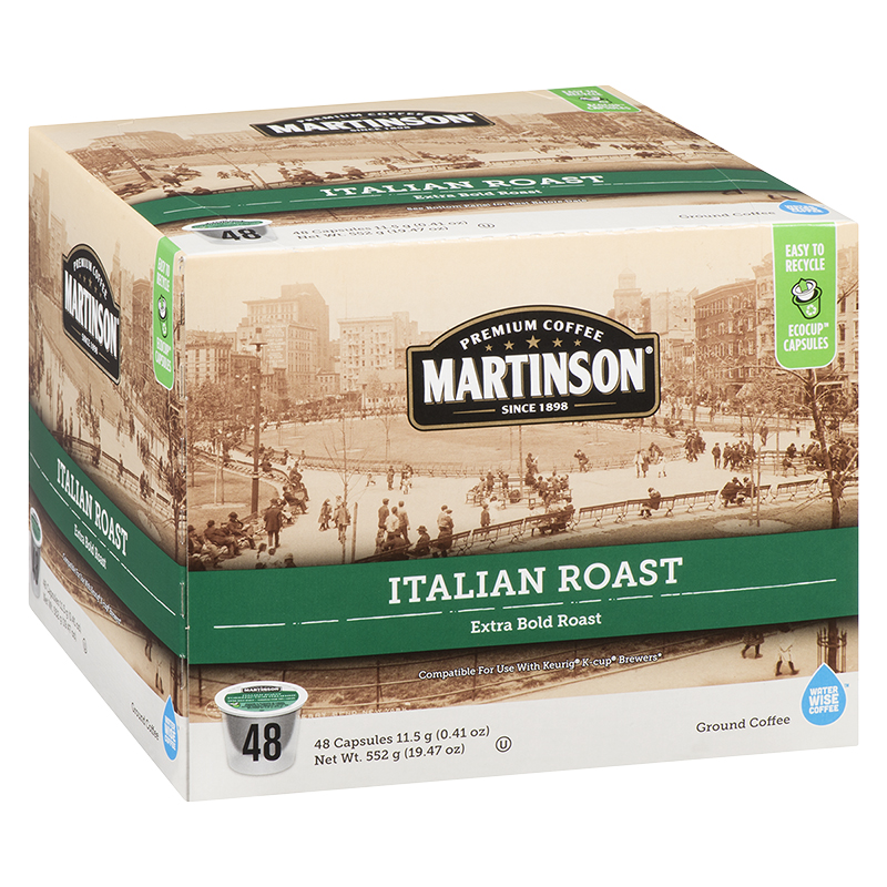 Martinson's Coffee Pods - Italian Roast - 48's