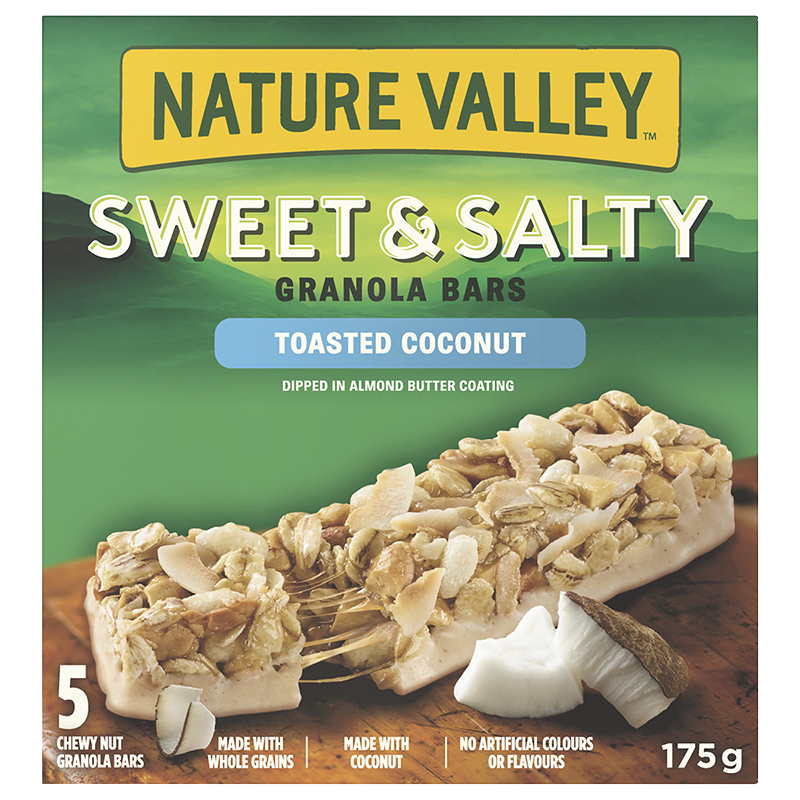 Nature Valley Sweet & Salty Bar - Toasted Coconut - 5 Pack