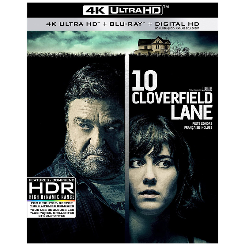 10 Cloverfield Lane - 4K UHD Blu-ray
