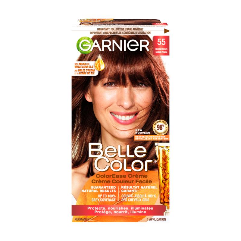 Garnier Belle Color Haircolour 55 Reddish Brown London Drugs
