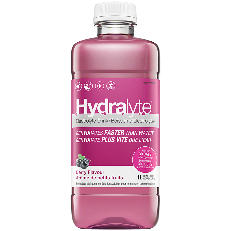Hydralyte Ready to Use Electrolyte Solution - Berry - 1L