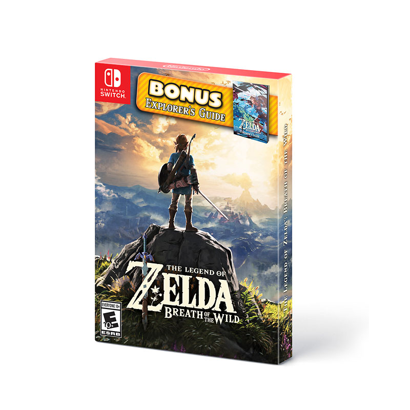 Nintendo Switch Legend of Zelda: Breath of the Wild with Bonus