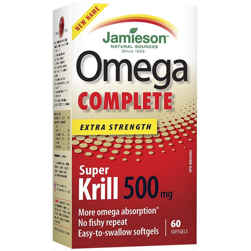 Jamieson Omega Complete Super Krill - 500mg - 60's