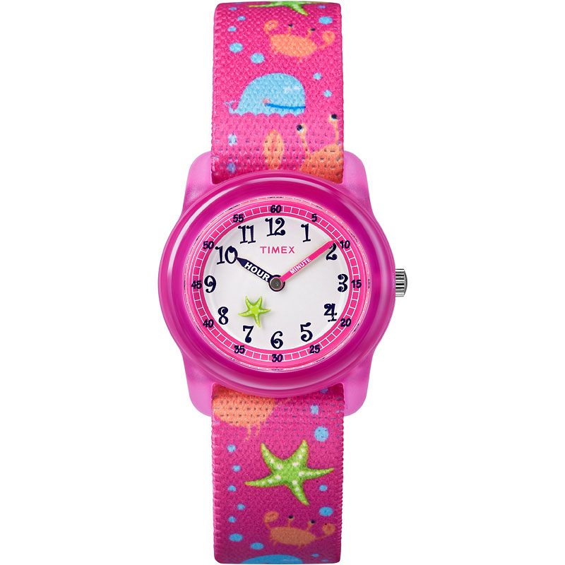 Timex Kids Analogue Watch - Pink - TW7C136002Y